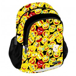 Emoji Backpack School Bag Reppu Laukku 42,5x32x12,5 cm