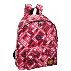 Manchester United Backpack School Bag 43x33x15 cm