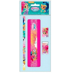 Shimmer And Shine 4-Pack Stationery School Set