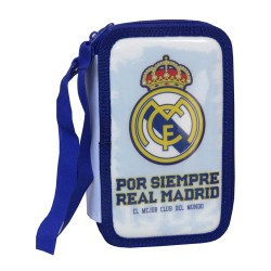 Real Madrid 43-pieces Penaaleita Triple School Set Pencil Case
