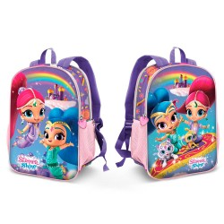 Reversible 2i1 Backpack Shimmer and Shine School Bag 32x25x12 cm