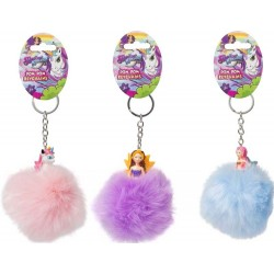 Magical Kingdom Princess Pom Pom Nyckelring Älva Prinsessa Lila Purple HTI 79,00 kr product_reduction_percent