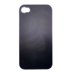 iPhone 4/4S Case Cover Black/Grey