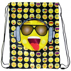 Emoji Sports Sports Bag, Gym Bag 43 x 33 cm