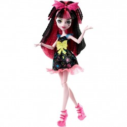 Monster High Draculaura Electrified Hair Ghouls Doll Docka 30cm Monster High Draculaura DVH67 Monster High 399,00 kr product_...