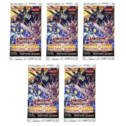 Yu-Gi-Oh! Battles of Legend Relentless Revenge Booster Pack 5pcs