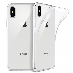 iPhone Xs Max Suojakuori Soft TPU Case Ultra Slim Cover Transparent