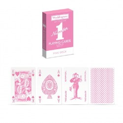 Waddingtons Number 1 Quality Playing Cards PINK-Edition