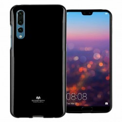 GOOSPERY Mercury Pearl Jelly Case Huawei P20 Pro Soft TPU Cover Black