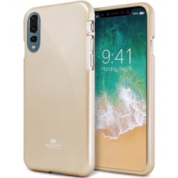 GOOSPERY Mercury Pearl Jelly Case Huawei P20 Pro Soft TPU Cover Gold
