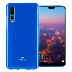 GOOSPERY Mercury Pearl Jelly Case Huawei P20 Pro Soft TPU Cover Blue