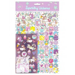 Unicorns Mega Stickers Pack 150st Foiled Klistermärken Enhörnig Unicorns s Mega Sticker Pack Unicorn 79,00 kr product_reducti...