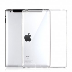 iPad 2/3/4 Soft TPU Case Slim Cover Clear Transparent