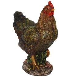 Havedekoration Real Life Size D Summer Hen Hen 27cm