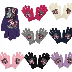 2-Pairs Monster High Gloves Children Mittens One Size