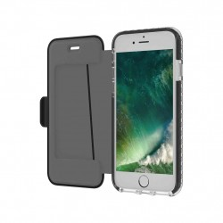 Celly Hexagon tegnebog til iPhone 6/7/8 Sort