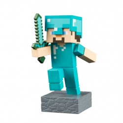 Minecraft Diamond Steve Adventure Figures Series 1 Diamond Steve S1 Minecraft 199,00 kr