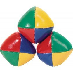 Vintage 4-Colour Juggling Balls 3-Pack