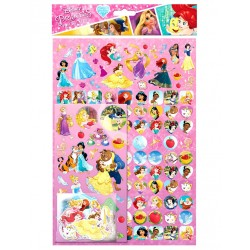 Disney Princess Stickers Mega Pack 150 stk Genanvendelig