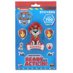 700pcs Paw Patrol Chase Marshall Skye Stickers Set