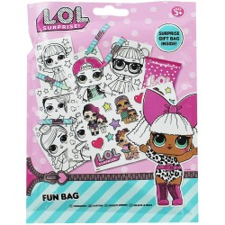 L.O.L Surprise! LOL Fun Bag Activity Toy Stickers Painting