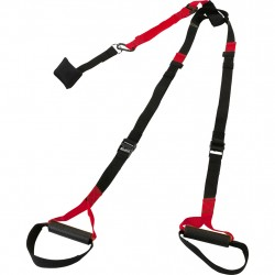 Frontier Suspension Strap Exercise Sport Red