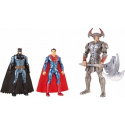 Justice League Batman, Steppenwolf, Superman 3-Pack Figures FGG57 3-Pack DC Comics 599,00 kr