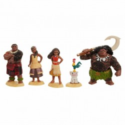 Disney Vaiana Moana Maui the Demigod Playset Figure (6-Piece)