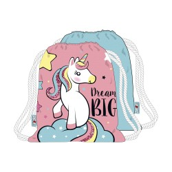Unicorn Dream Big Gympapåse Skoväska 44x38cm Unicorn Gymbag Unicorn 149,00 kr product_reduction_percent