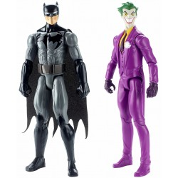 DC Justice League Batman & The Joker Figures 2 Pack Action Figure FHW50 2-Pack DC Comics 549,00 kr