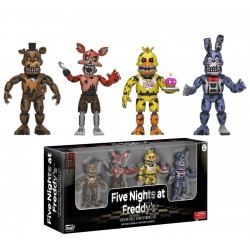 Five Nights at Freddy's: Four Pack 6cm Figures - Nightmare Edition Vinyls