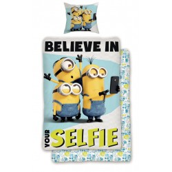 Minions Selfie Pussilakanasetti Bed Linen 140x200 + 60x70 cm