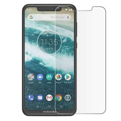 Motorola One Tempered Glass Screen Protector Retail Package