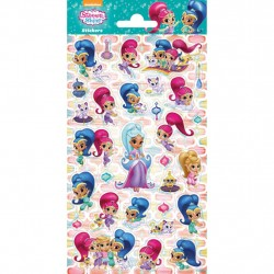 Glitter Stickers Shimmer & Shine Stickers 30 stk