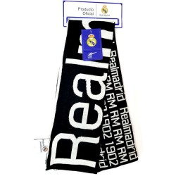 Real Madrid Jacquard Scarf Double Fan 140x18cm