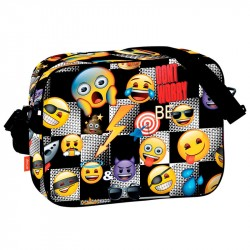 Emoji Icon Axelväska Skolväska 38x29x9cm Emoji Backpack Don´t Worry Be Emoji 349,00 kr product_reduction_percent