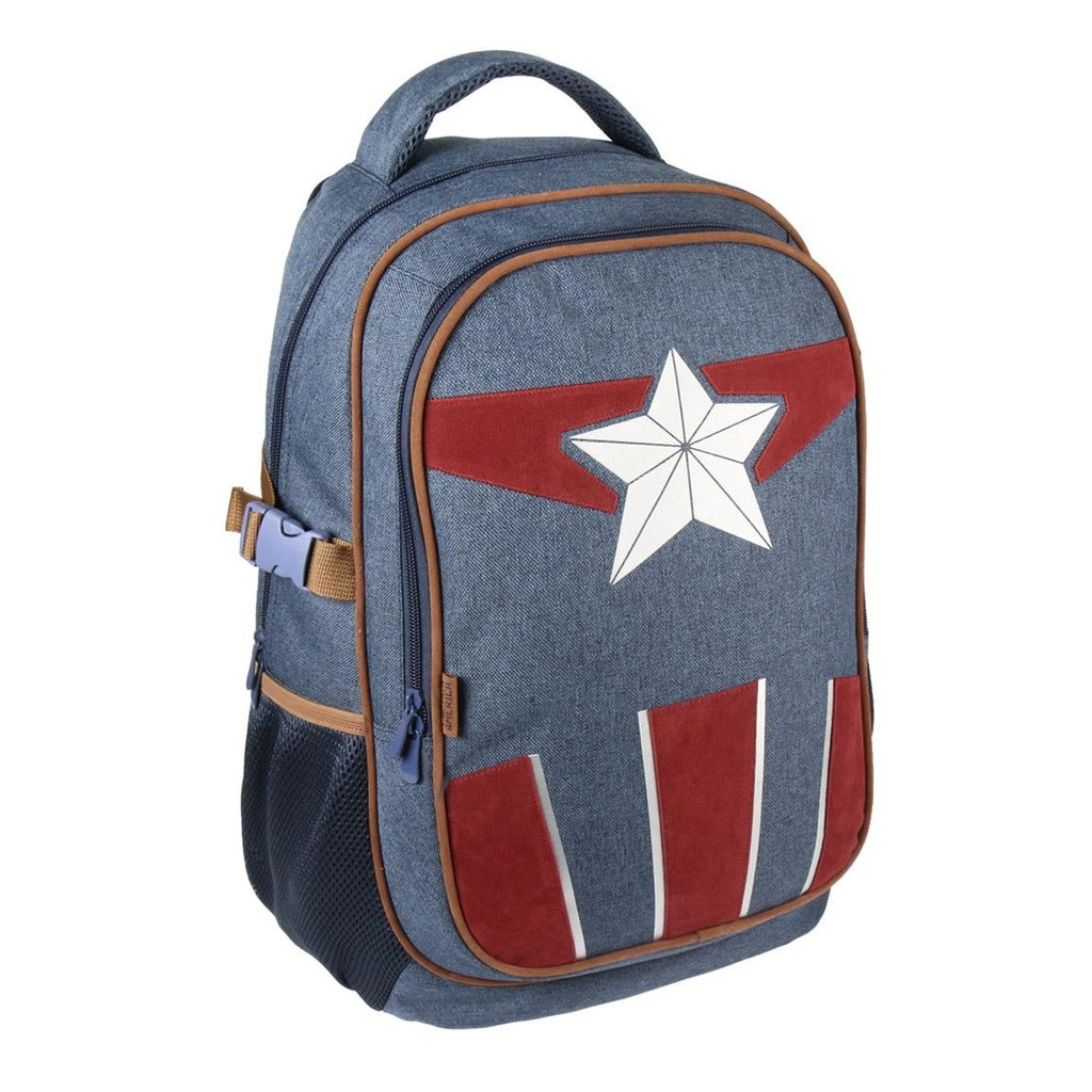 MARVEL IRONMAN BACKPACK LARGE POCKETS FOR SCHOOL AND TRIP 40x30x14cm TWO POCKETS