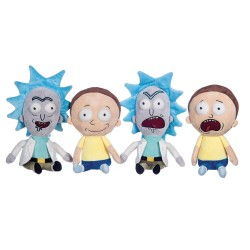 2-Pack Rick and Morty Large Plush Toy 35cm
