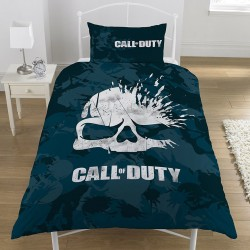 Call of Duty Broken Skull Camo Bed Linen Single Duvet Cover Set 137x198cm