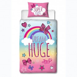 JoJo Siwa Cute Duvet Cover Bed 135x200 + 48x74cm