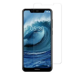 Nokia 5.1 PLUS Tempered Glass Screen Protector Retail Package