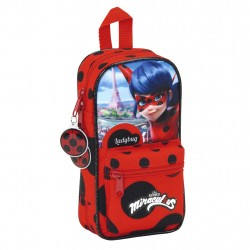 Miraculous Ladybug Penaalit School Set 36-pieces Filled Pencil Case