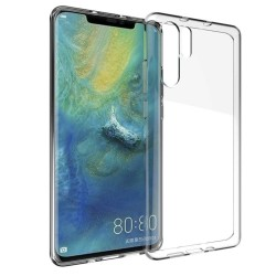 Ultra-tynd Soft Shell TPU Huawei P30 Pro Transparent
