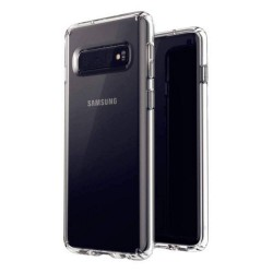 Samsung Galaxy S10 Suojakuori Soft TPU Case Ultra Slim Cover Transparent