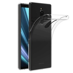 Ultra-tynd Soft Shell TPU Sony Xperia 1 Transparent