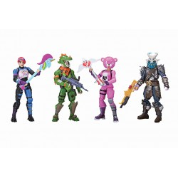 Fortnite Squad Mode Figures 4 Pieces 10cm