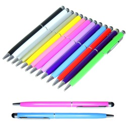 5-Pack 2i1 Universal Touchpenna/Bläckpenna iPad/iPhone/Android mm