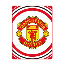 Manchester United Pulse Fleeceblanket Huopa Fleece 125 x 150 cm