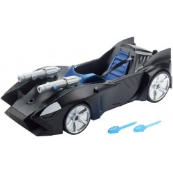Justice League Batman Action Twin Blast Batmobile Vehicle 40cm