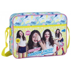 Soy Luna Random Faces Shoulder Bag Backpack 38x28x10cm